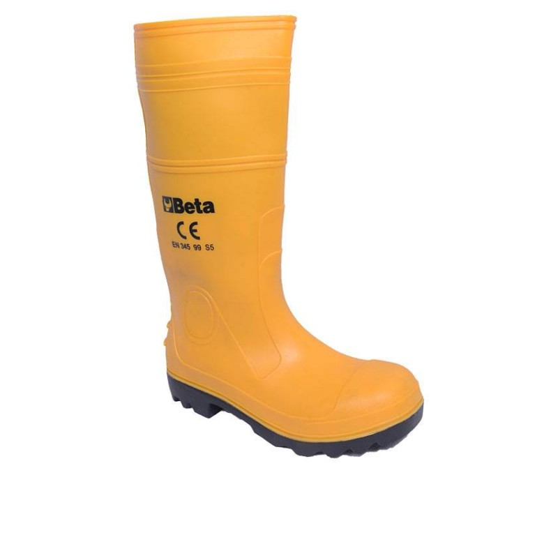 Yellow Safety Rain-boot