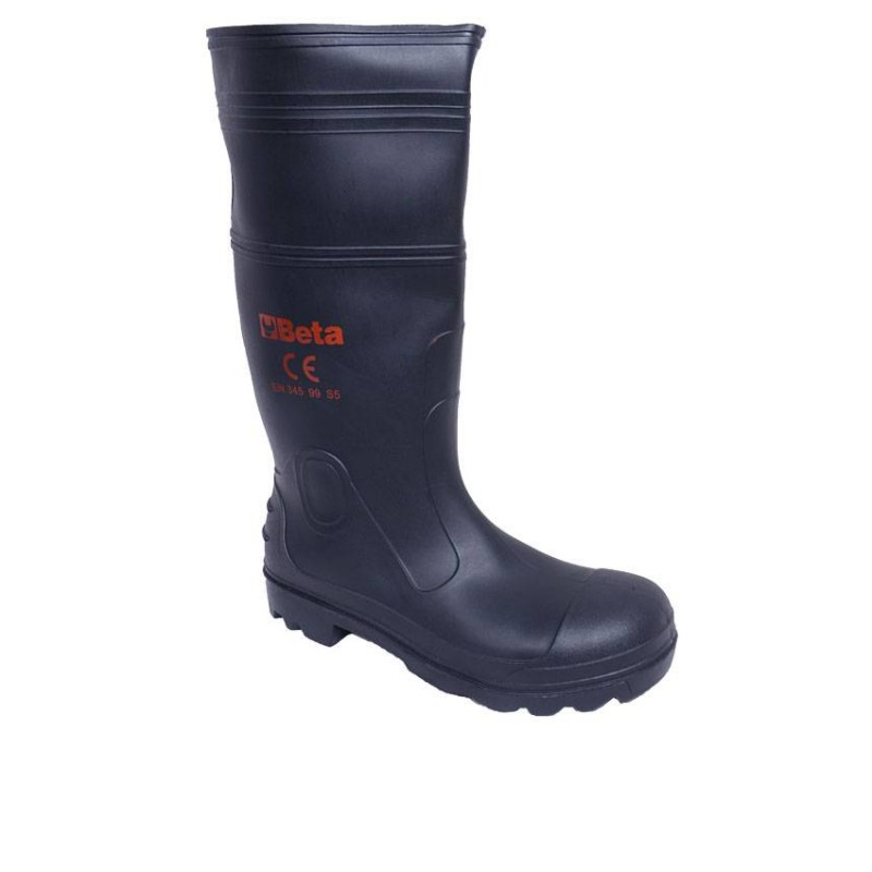 Black Non-Safety Rain Boot